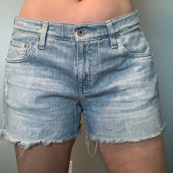 Big Star Pants - Big Star cut off denim shorts
